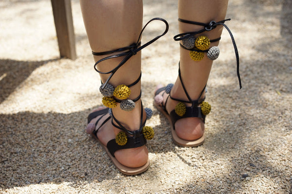 Poppy Lace Up Sandal