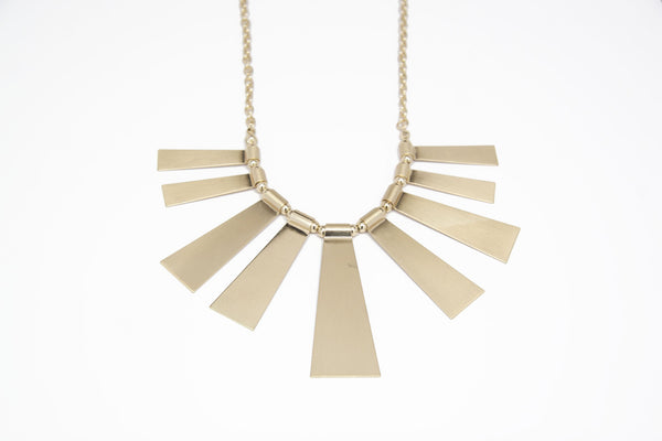 Sunrays Statement Necklace