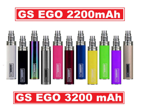 GS EGO II 2200mAh OR GS EGO III 3200mAh - Huge Capacity Battery