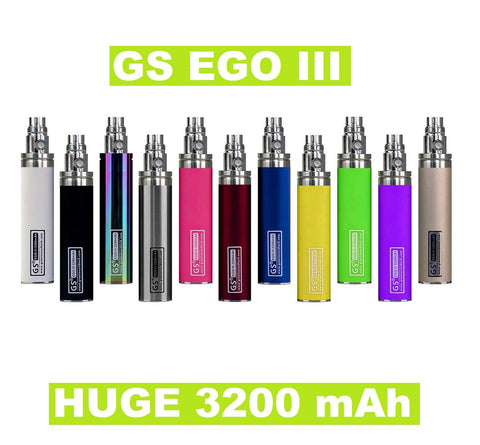 GS EGO III 3200mAh - Huge Capacity Battery