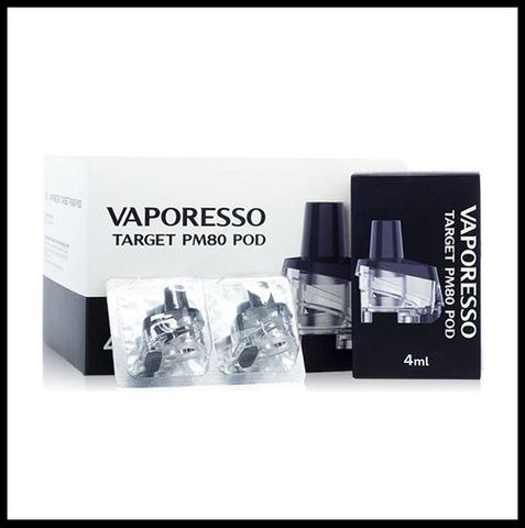 Vaporesso Target PM80 Replacement Pods - Large Capacity