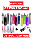 GS EGO II 2200mAh OR GS EGO III 3200mAh Battery - **Mega Kit**