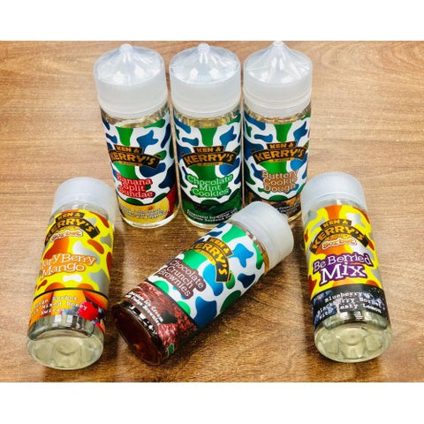 Ken & Kerry's Malaysian e Liquid 0mg 120ml 70/30 VG/PG