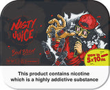 Nasty Juice Premium E Liquid 10ml Bottles 70/30 VG/PG Refill Oil 0,3 & 6mg - On Sale