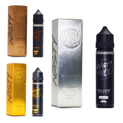 New Nasty Juice Flavours Tobacco Series 70/30 Vape E Liquid E Juice