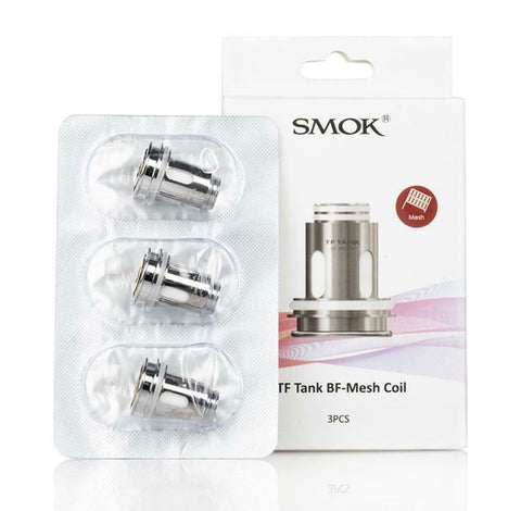 SMOK TF Tank BF- Mesh Coil | 0.25Ω | Pack Of 3 | Replacement Coils NEW