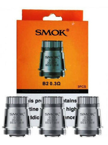 SMOK Brit Mega Tank B2 Coils - Pack of 3pcs