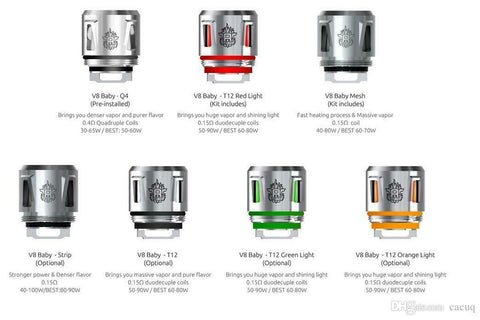 SMOK TFV12 Baby Prince Replacement Coils