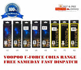 Genuine VOOPOO UFORCE Coils U2 U4 D4 U6 U8 N2 P2 N3 U Force Pack Of 5x Coils