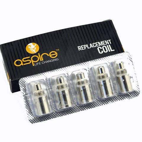 Aspire BVC Coils For K1, ET-S, ET, CE5, CE5-S - Pack of 5 - TPD Compliant