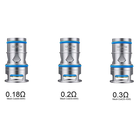 Genuine Aspire ODAN Mesh 0.2Ω, 0.3Ω & 0.18Ω Replacement Coil Atomizer Head