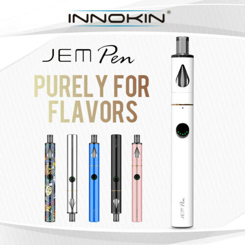 Innokin Jem Pen Kit All in One Pen Style 1000mAh Kit OR Pack Of Replacement Coil