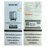 Smok TFV9 Meshed Coils | 0.15ohm Mesh Pack of 5x Replacement Coils TPD Compliant