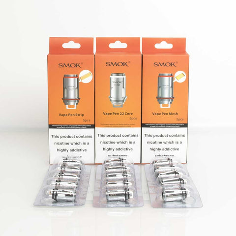SMOK Vape Pen 22 Kit Replacement Coils 0.3Ohm Dual Core Coil Same Day Dispatch