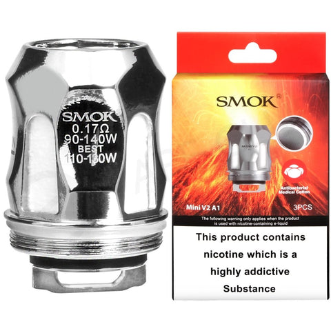 SMOK Mini V2 A1 A2 A3 Coils For R-Kiss & Species Tank Pack of 3x