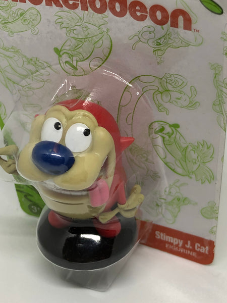 Nickelodeon Figurines - Ren & Stimpy, signed by Bob Camp