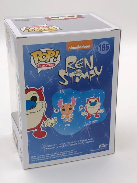 Funko Pop - Stimpy Vinyl Figure - signed by Bob Camp | Co creator of Nickelodeon's Ren and Stimpy Show