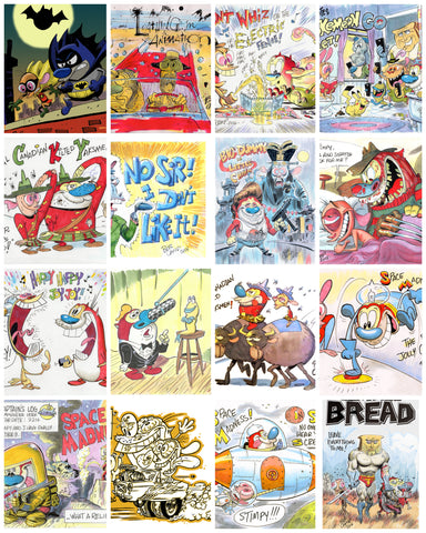 Bob Camp Art Prints Mega Surprise 2-Pack 'Ren & Stimpy' Posters 11x14