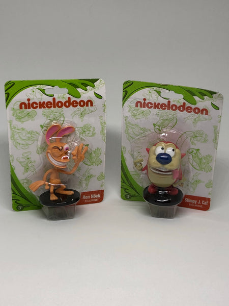 Nickelodeon Figurine - Ren & Stimpy, signed by Bob Camp