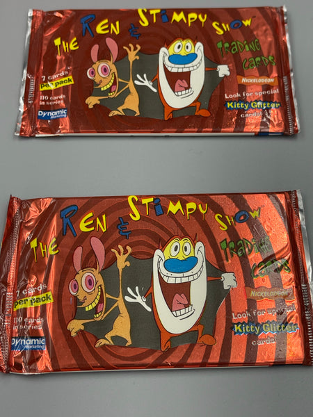 1994 Dynamic Marketing The Ren & Stimpy Show Trading Cards Autographed by Bob Camp