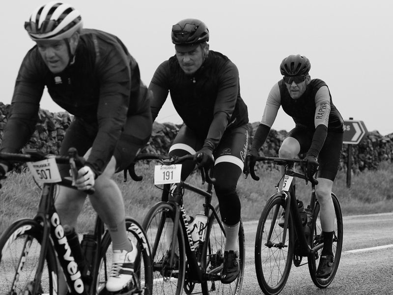 100 miles sportive in Yorkshire
