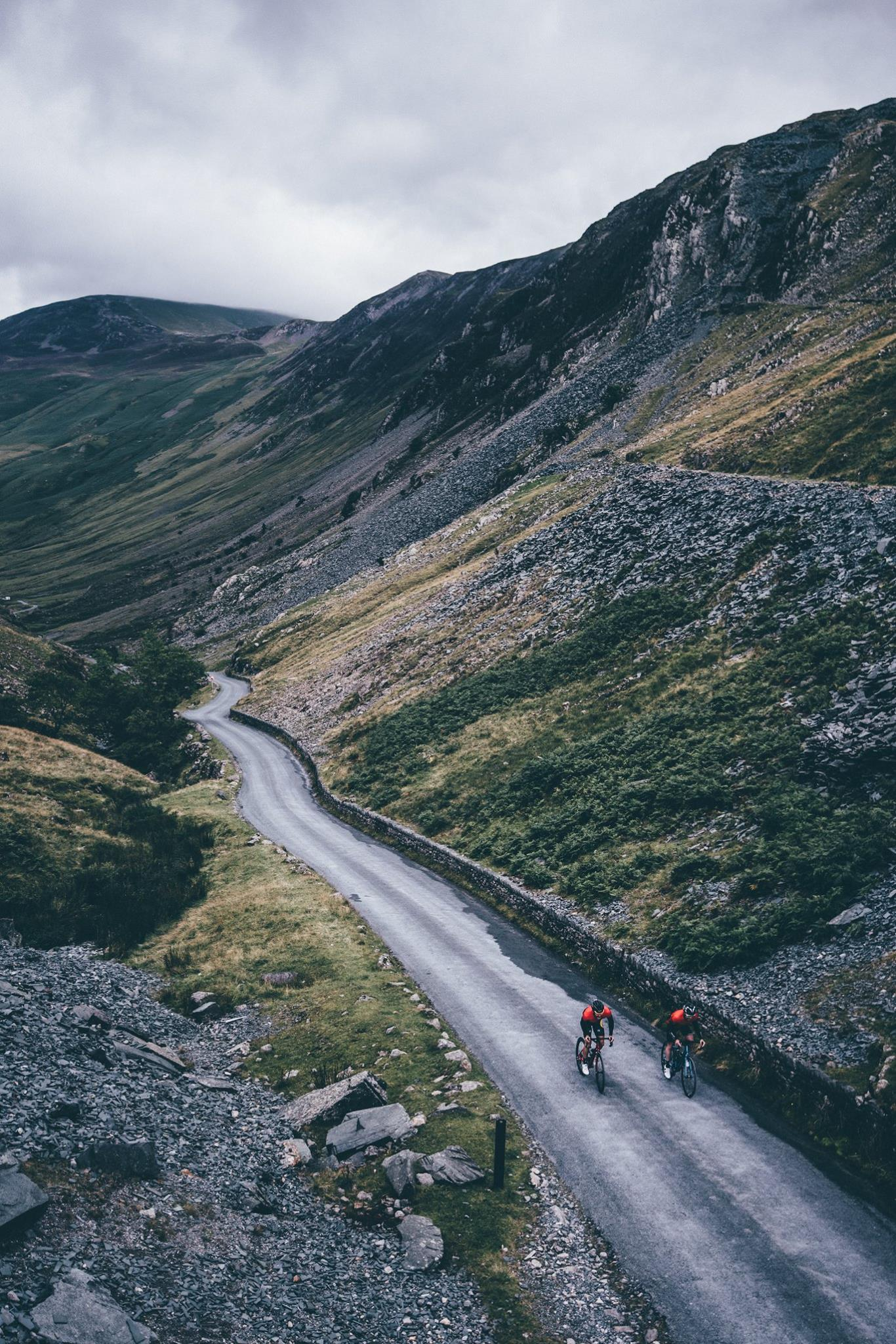 Honister Pass - Cycling trip lake district