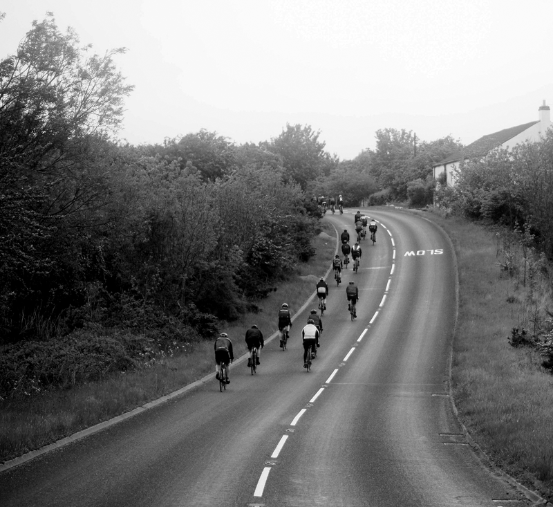 Bedlam climb of Struggle Dales Yorkshire sportive