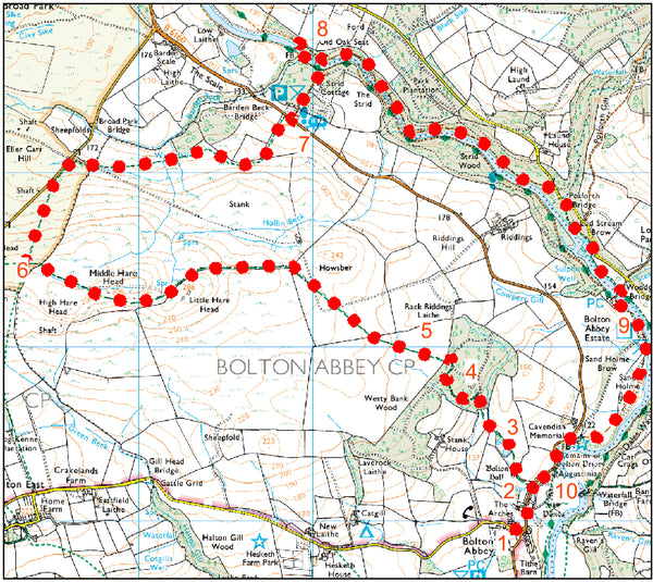 Bolton Abbey to Harehead Walk