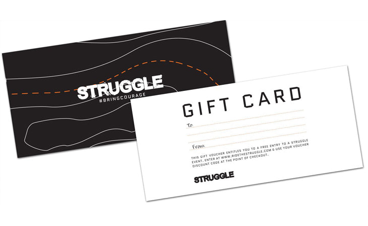 Struggle Christmas Gift Voucher