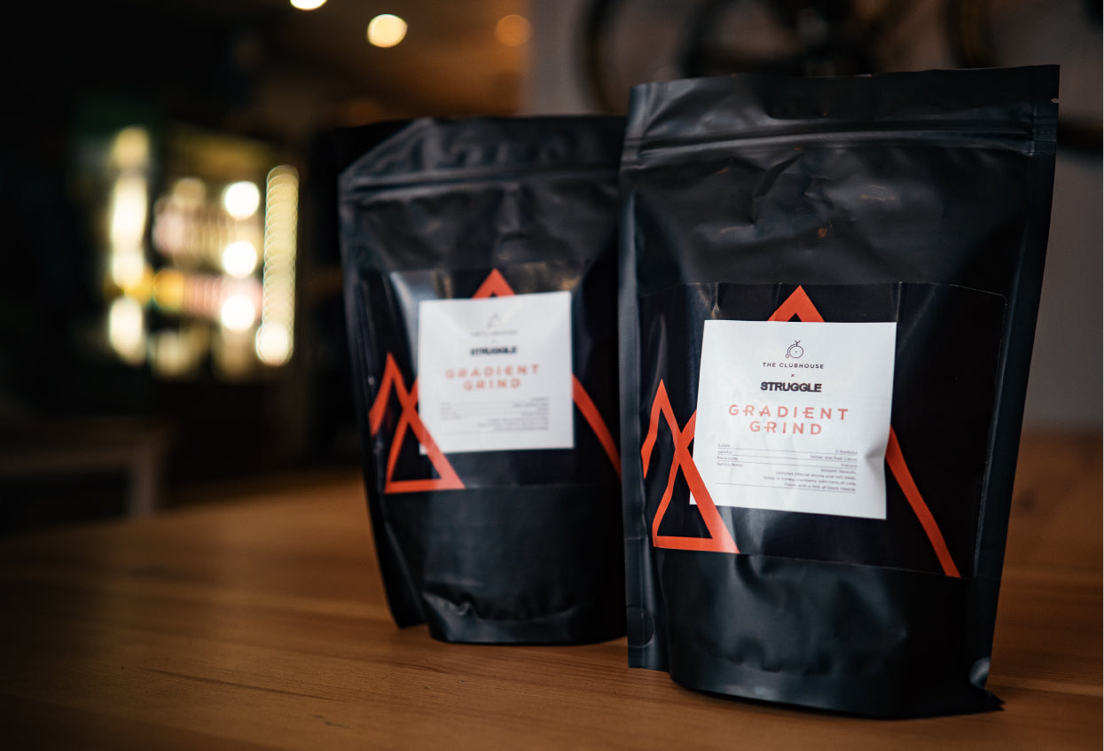Gradient Grind Coffee for Cyclists by Struggle Events