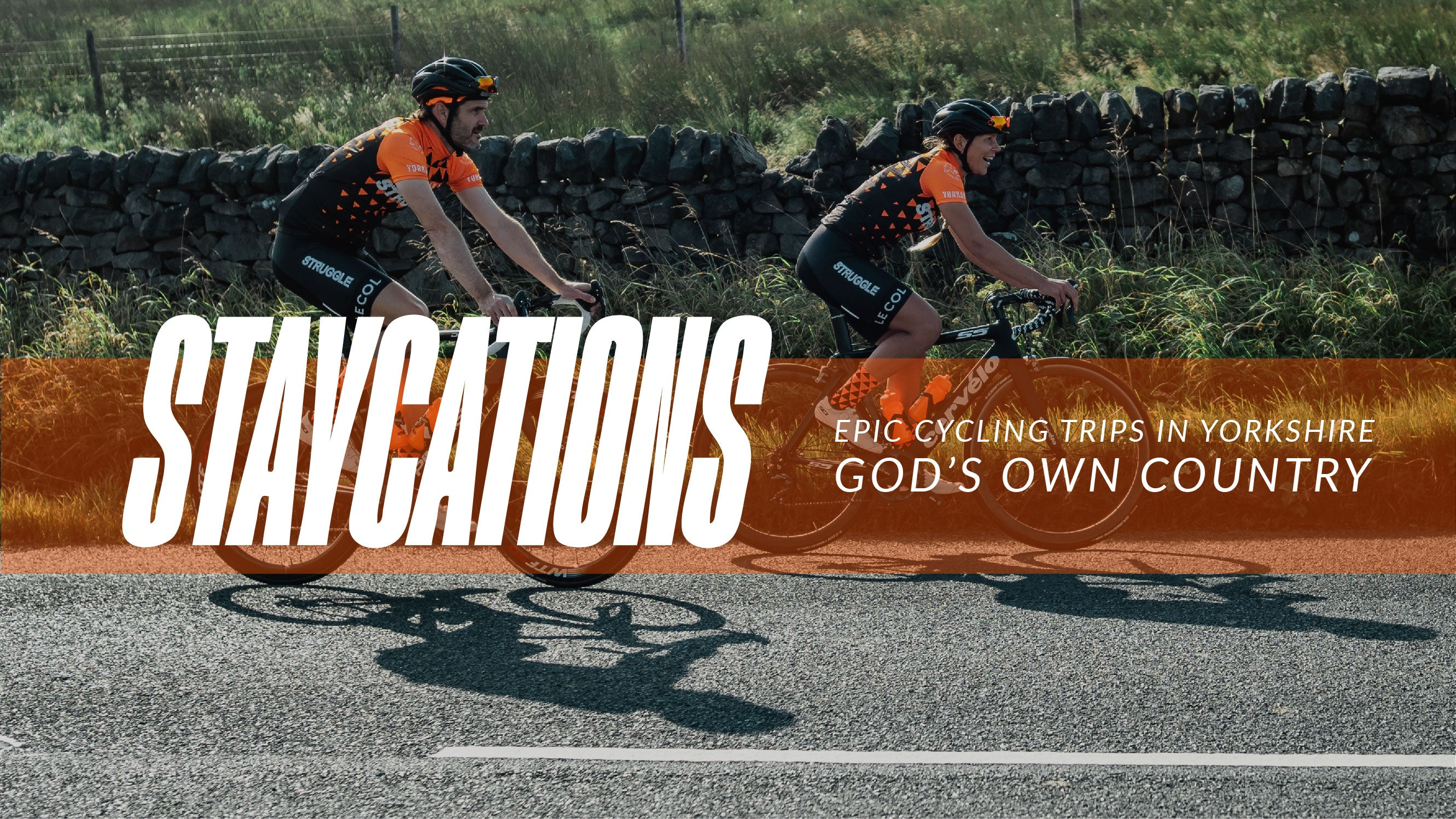 Cycling staycations in Yorkshire UK