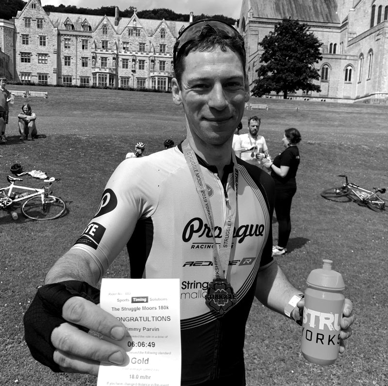 Jimmy Parvin Struggle Moors Sportive Course Record