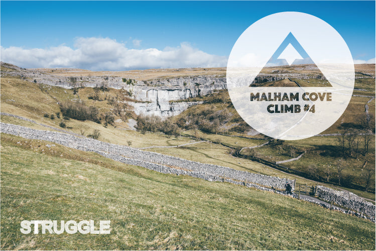 Malham Cove Climb on Yorkshire sportive The Struggle