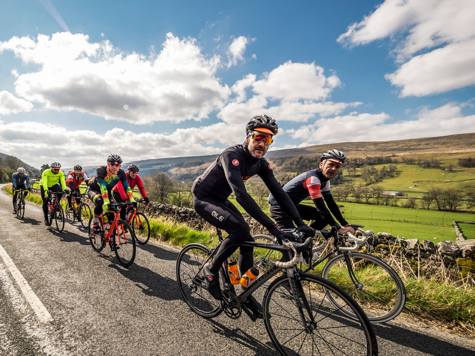 corporate cycling events in the Yorkshire Dales