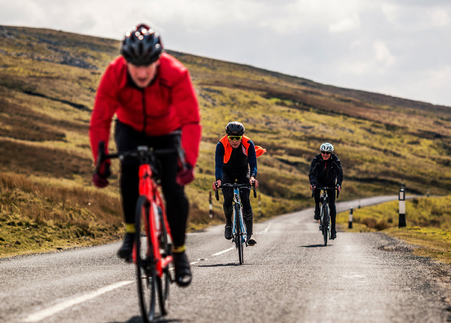 corporate cycling event in Yorkshire Dales - Buttertubs pass