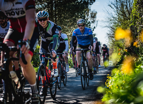 corporate cycling event in Yorkshire