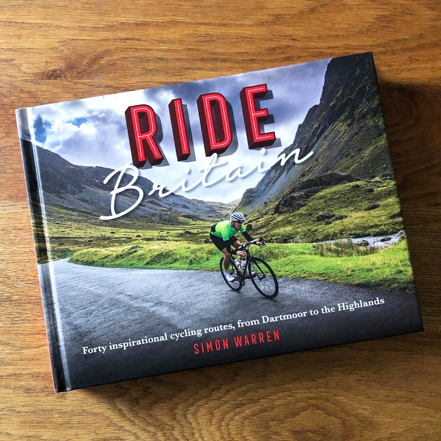 Books for Cyclists - Ride Britain Cycling Book by Simon Warren