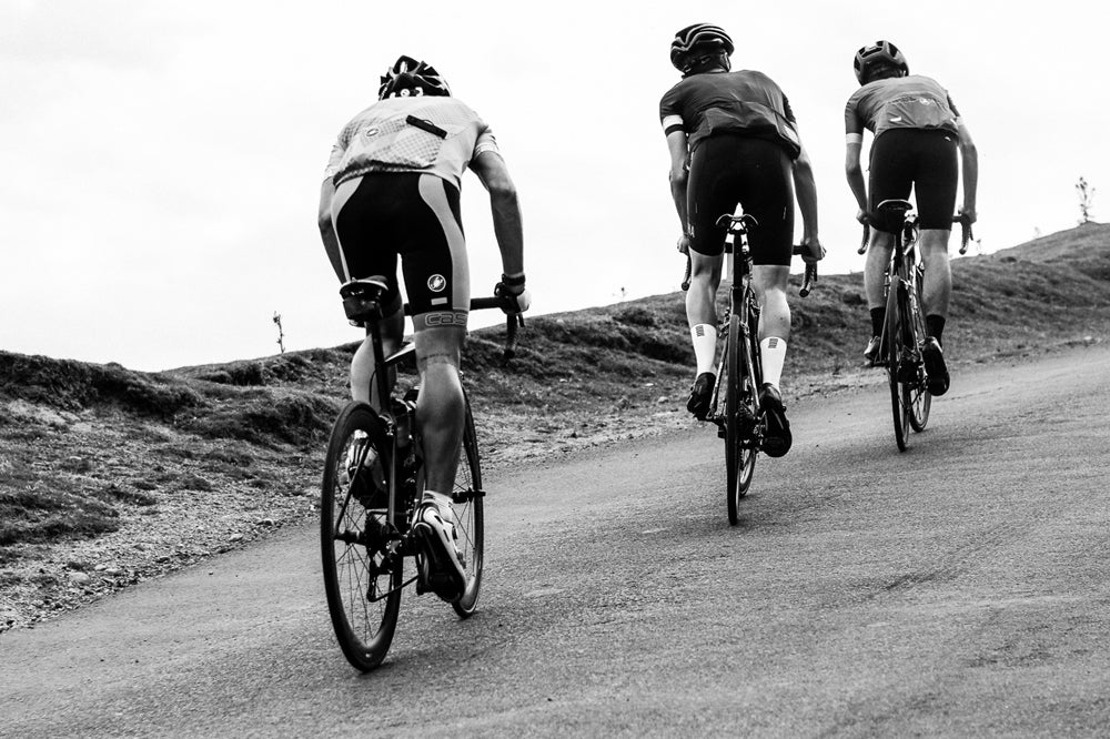Rosedale Chimney climb on Struggle Moors Yorkshire sportive