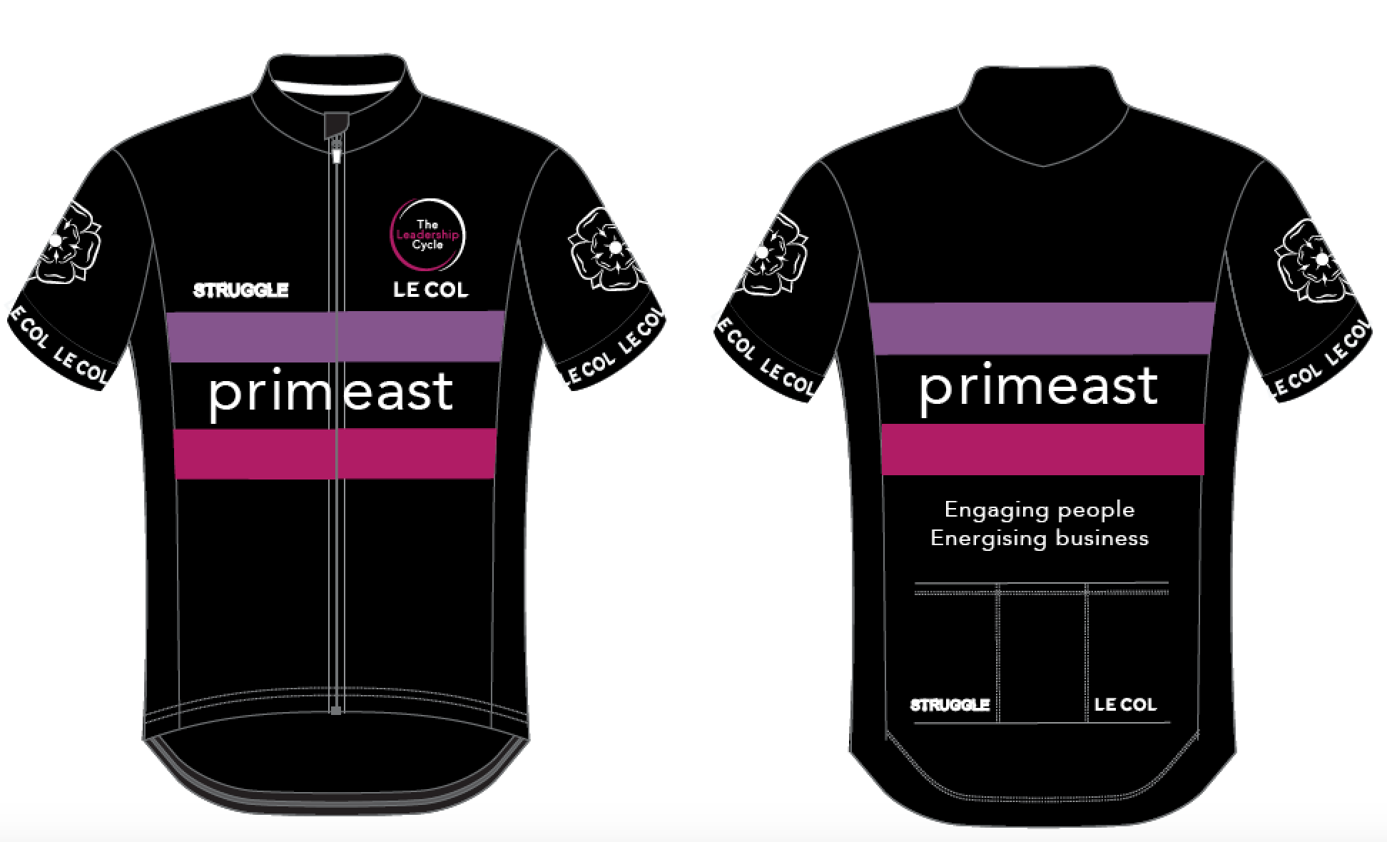 Le Col custom corporate cycling jersey