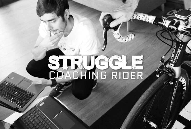 Struggle Coached Rider