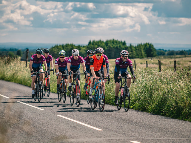 Fieldfisher corporate cycling event