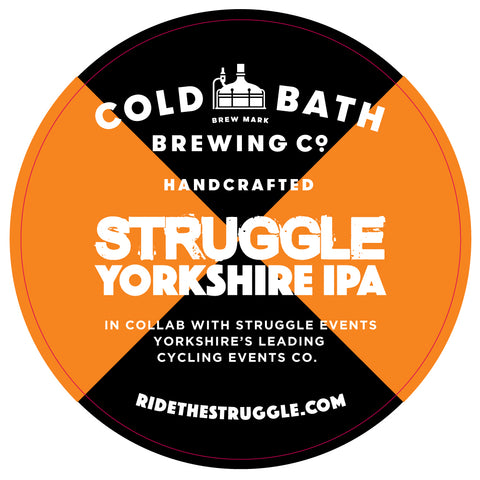 Struggle Yorkshire IPA by Cold Bath Brewery