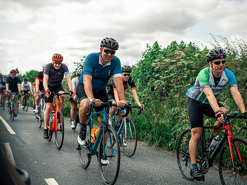 Corporate cycling event Yorkshire