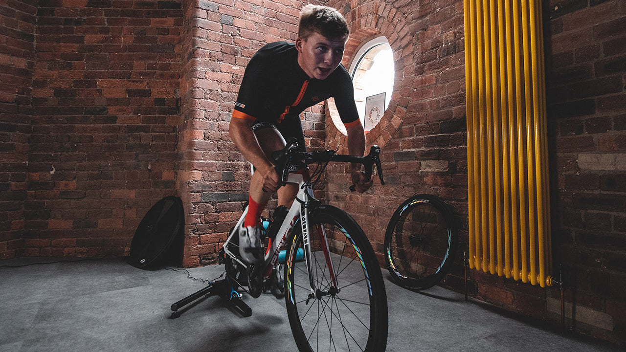 Veloskin _ Cycling on Indoor Turbo Trainer