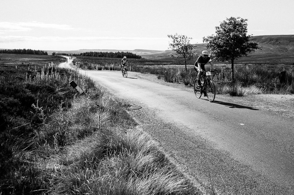 Yorkshire Moors scenery on Struggle Moors sportive in the Yorkshire Moors