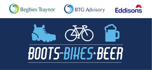 Begbies Traynor Boots or Bikes & Beer - Invitation Only