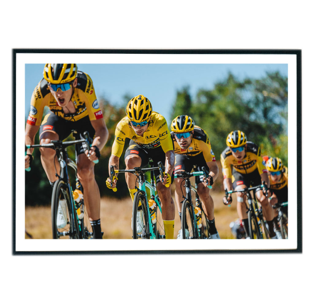Limited Edition Tour de France 2020 Cycling Print by Russ Ellis