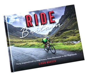 Signed Copy of New Ride Britain Book by Author Simon Warren