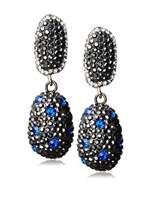 Cluster stones earrings