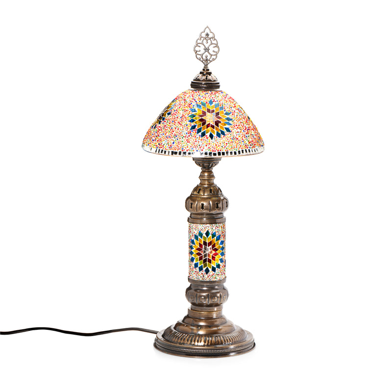 Mosaic shade lamp
